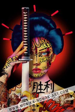 lady katana monika nowak