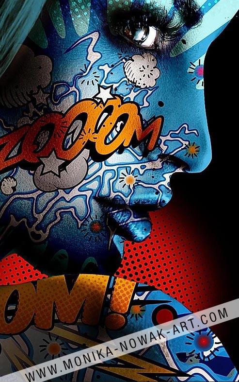 Pandora4 monika nowak pop art