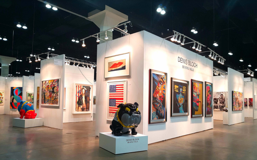 Los Angeles Convention ART show