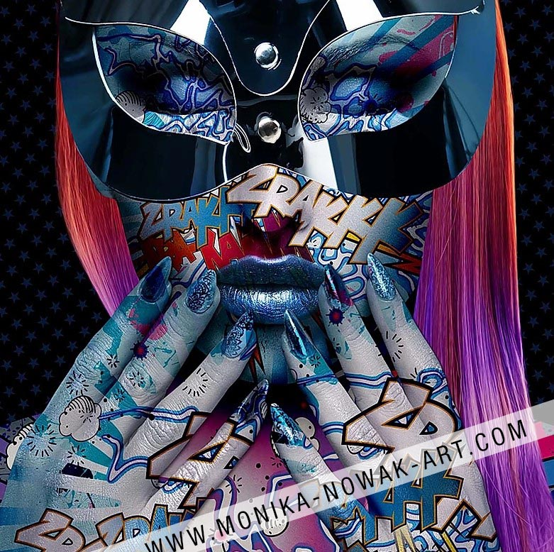 Phoenix Monika nowak pop art