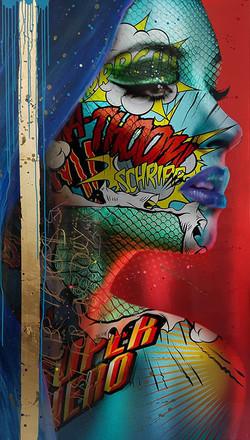 astradyne Monika Nowak pop art