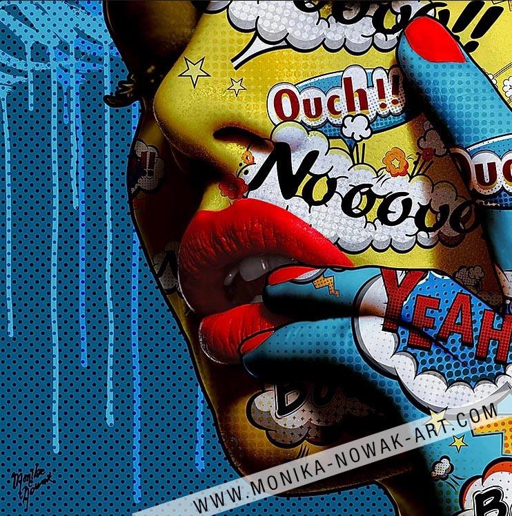 likable monika nowak pop art