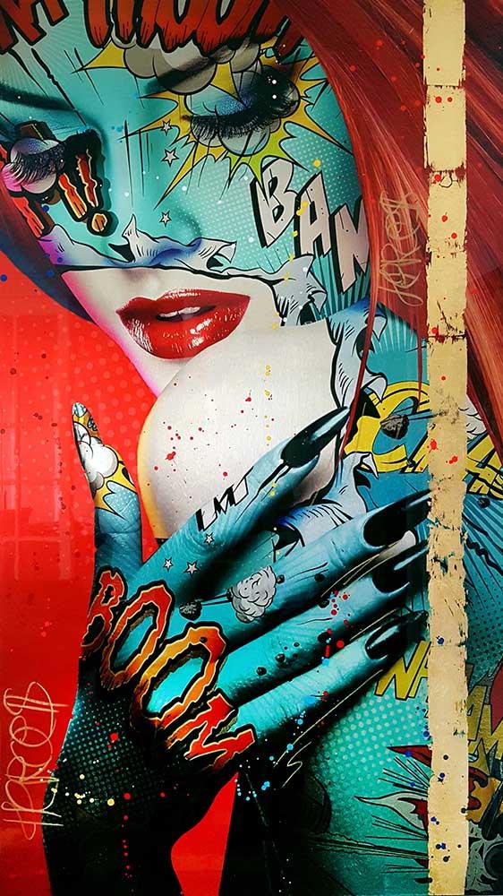 kimera Monika Nowak pop art