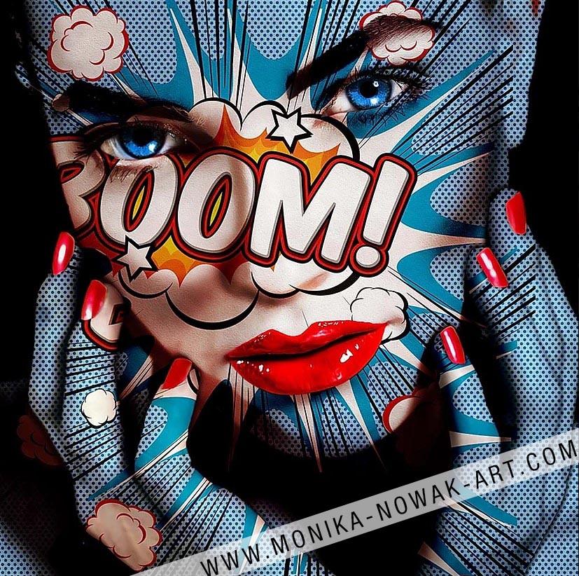 Boom Monika Nowak pop art
