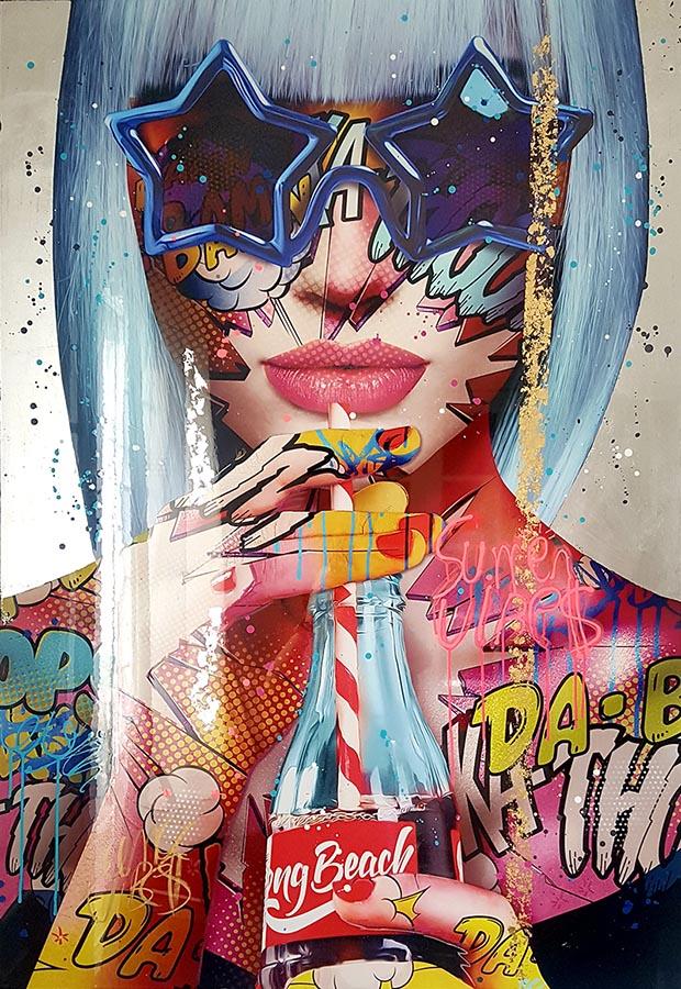 summer vibes Monika Nowak pop art