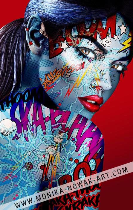 Stardust monika nowak pop art