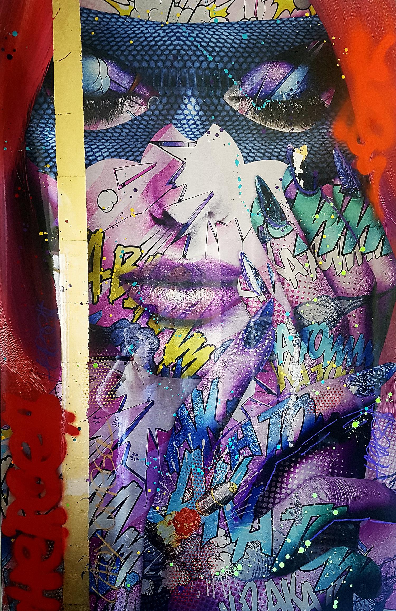 Lady Omega Monika Nowak pop art