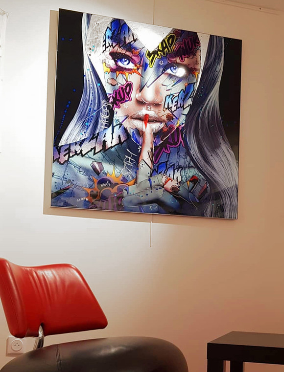 Storm 110 x 110 cm