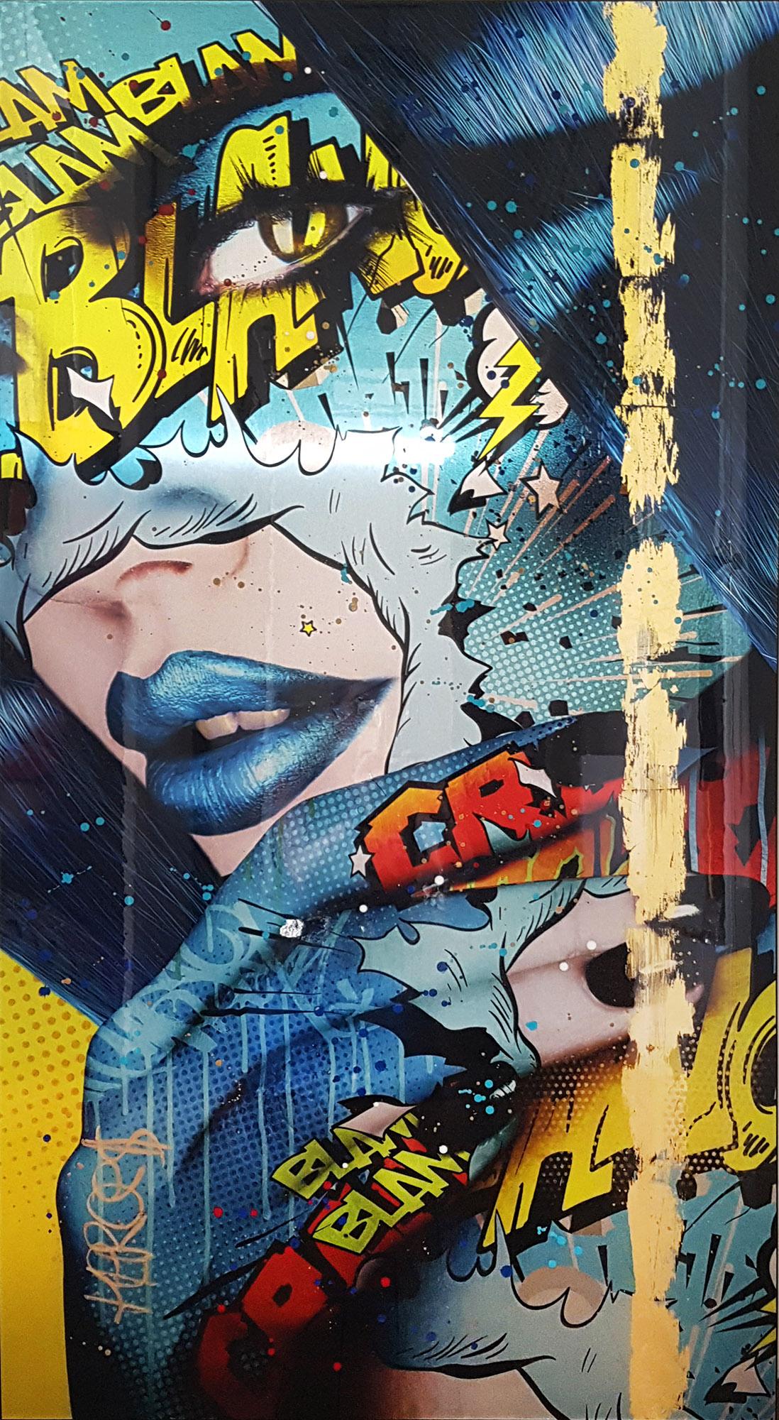 urban goddess Monika Nowak pop art