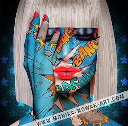 Blondie monika nowak pop art