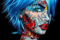 Carmilla 2 Monika Nowak pop art