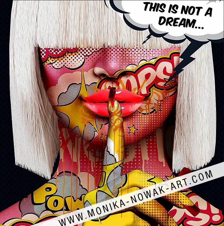 this is not a dream monika nowak pop art
