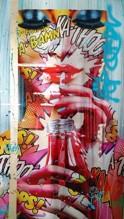 palm beach 1 Monika Nowak pop art