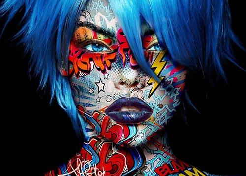 Carmilla 1 Monika Nowak pop art