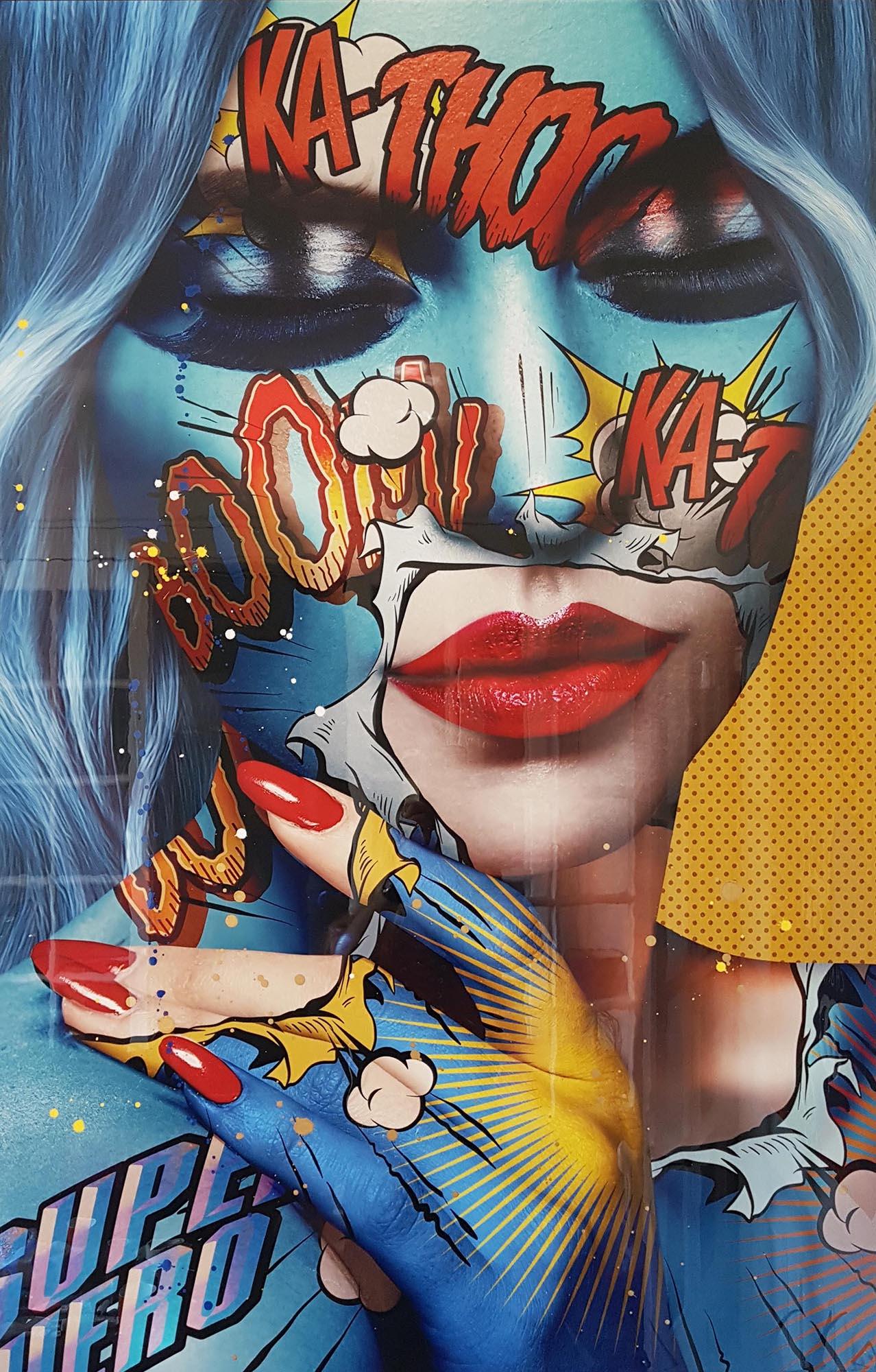 Queens never die Monika Nowak pop art