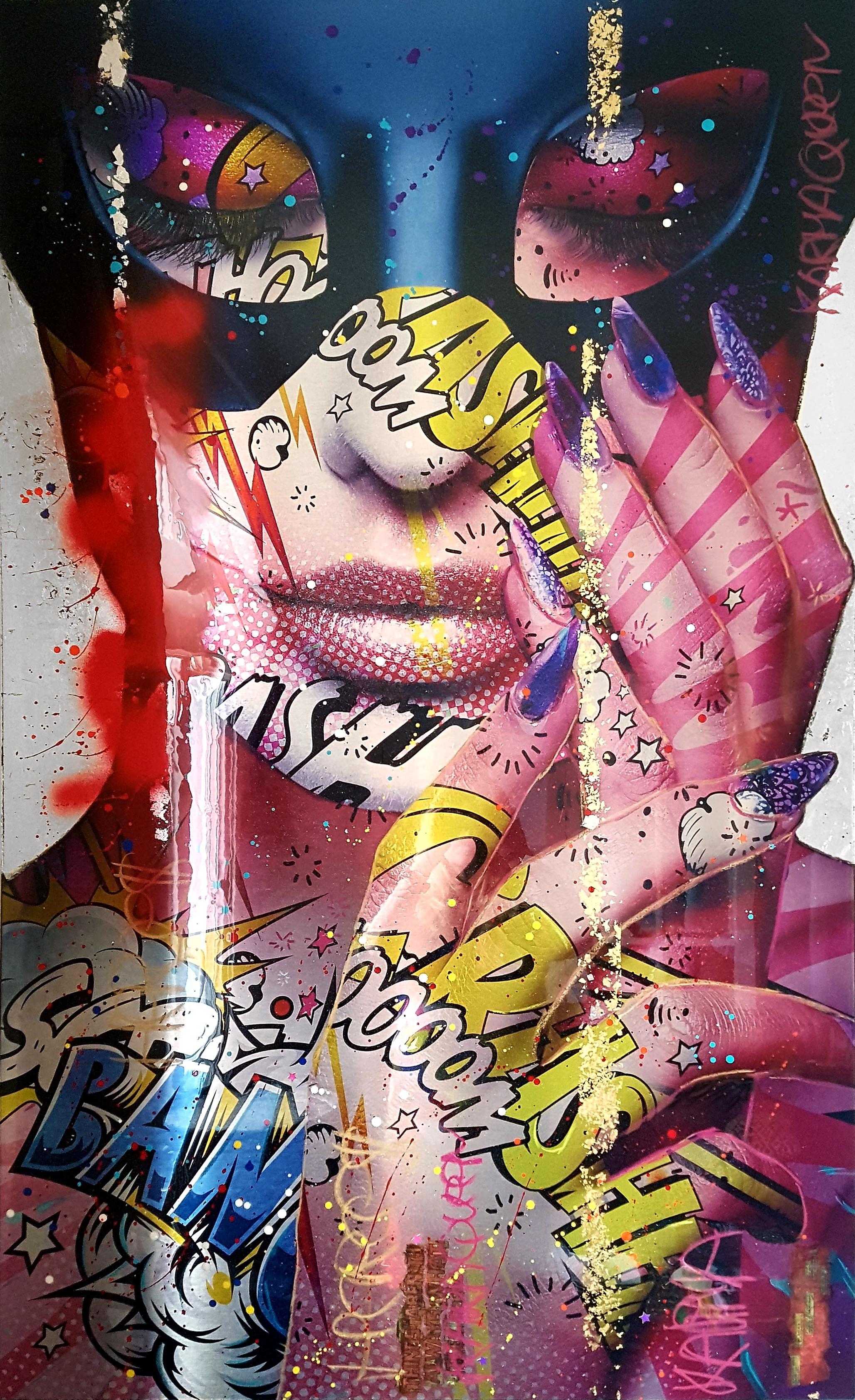 Karma Queen Monika Nowak pop art