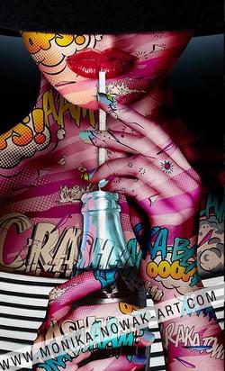 Sweet bonny monika nowak pop art