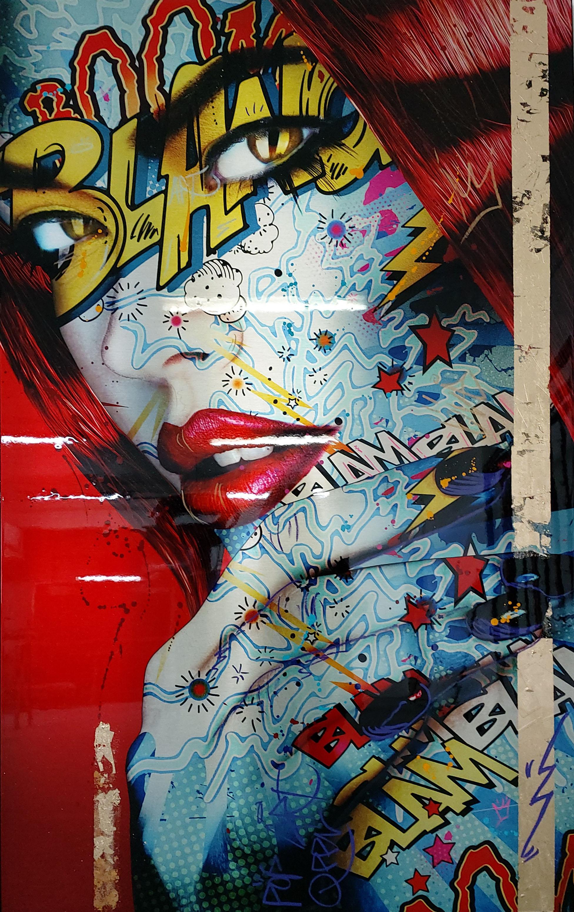 Power Girl Monika Nowak pop art