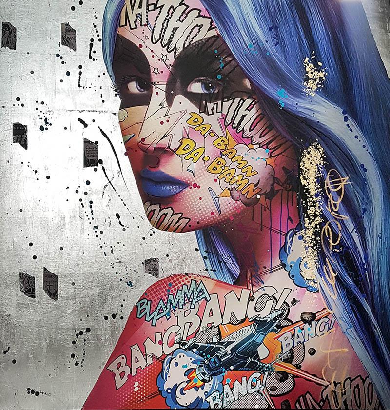 Aurora Monika Nowak pop art