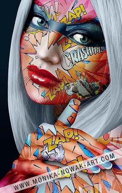 Amber monika nowak pop art