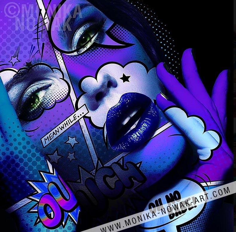 lady of the night monika nowak pop art