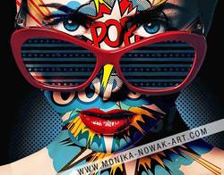 dolly pop monika nowak pop art