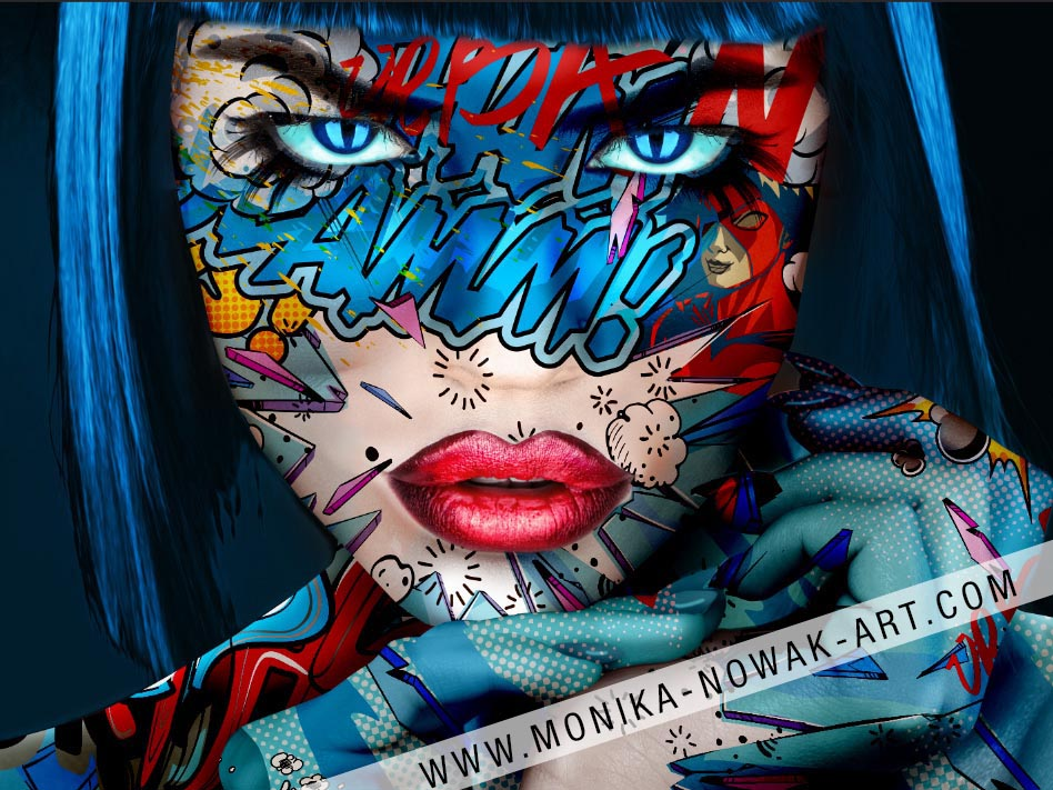 Jenna Monika Nowak pop art queen