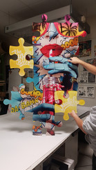 puzzle MALIBU