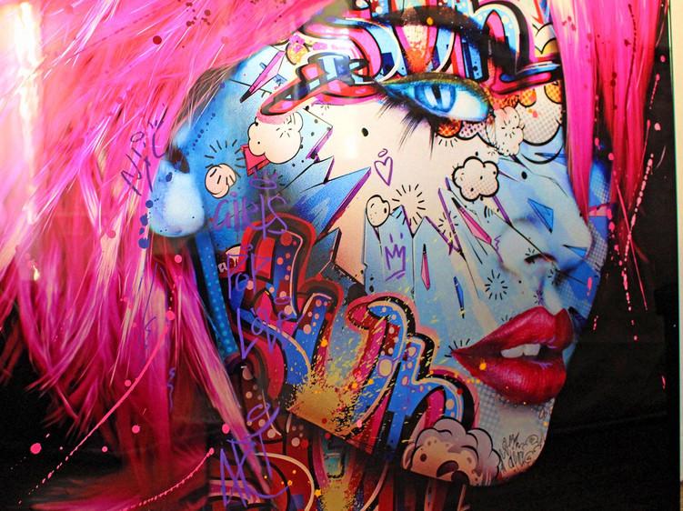 pink carmilla monika nowak pop art