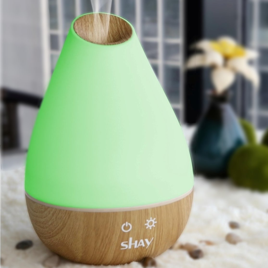 Shay Ultrasonic Aroma Diffuser and H