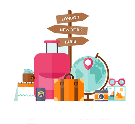 collection-of-free-travel-vector-world-d