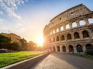 Rom-Das-Kolosseum-in-Rom-Italien-bei-Son