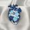 Thumbnail: Wave Heart Pin Badge