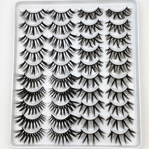 Lash Collection 20 Pairs - Sinful