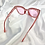 Thumbnail: Pink Clear Star Square Sunglasses