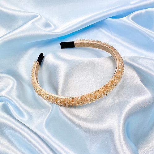 Champagne Luxury Bead Headband