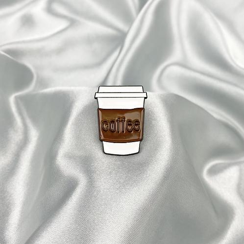 Coffee Pin Badge