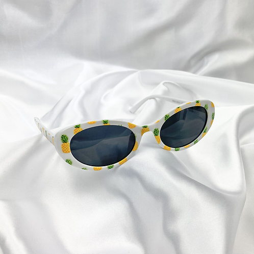 Pineapple Oval Sunglasses