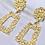 Thumbnail: Gold Mini Statement Earrings
