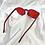 Thumbnail: Red Round Frameless Sunglasses