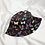 Thumbnail: Black Butterfly Bucket Hat