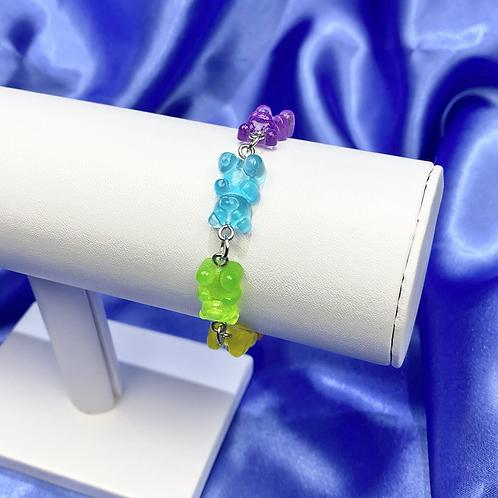 Dangly Gummy Bear Bracelet