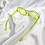 Thumbnail: Green Clear Glitter Clout Goggle Sunglasses