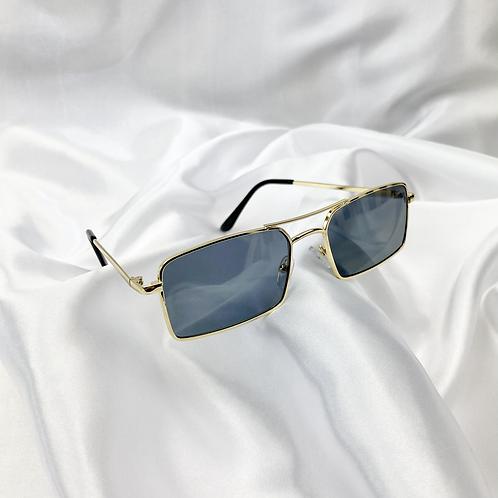 Black Grey Grandad Sunglasses