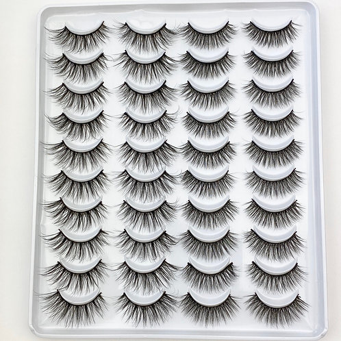 Lash Collection 20 Pairs - Wish List
