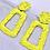 Thumbnail: Yellow Mini Statement Earrings