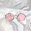 Thumbnail: Pink Round Sunglasses