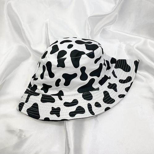 Cow Print Bucket Hat