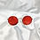 Thumbnail: Red Round Sunglasses