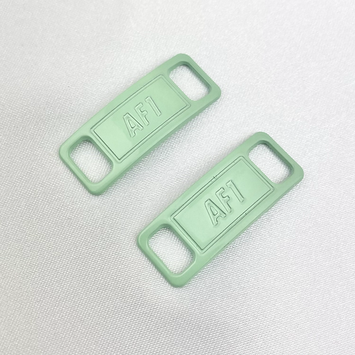 Pastel Green AF1 Shoe Lace Buckle